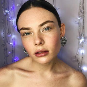 2 варианта новогоднего макияжа